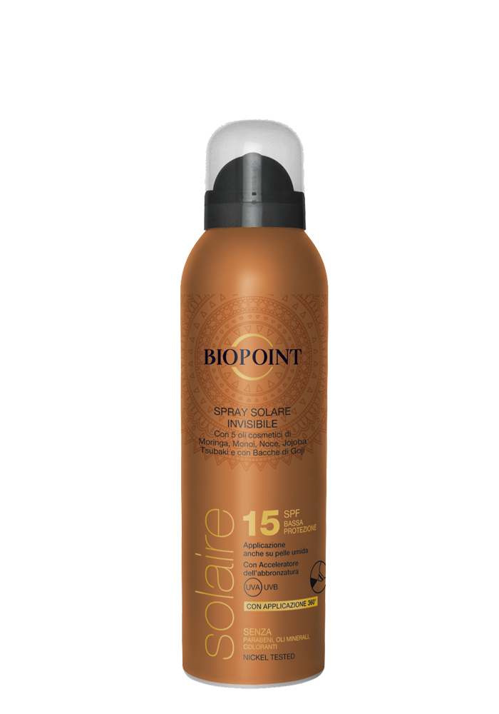 SPRAY SOLARE INVISIBILE SPF15